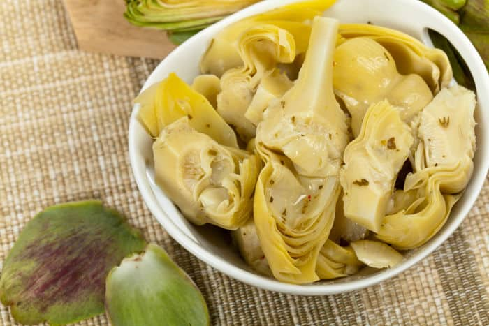 Image of marinated artichoke