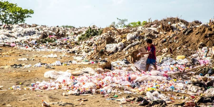 Image of waste pollution