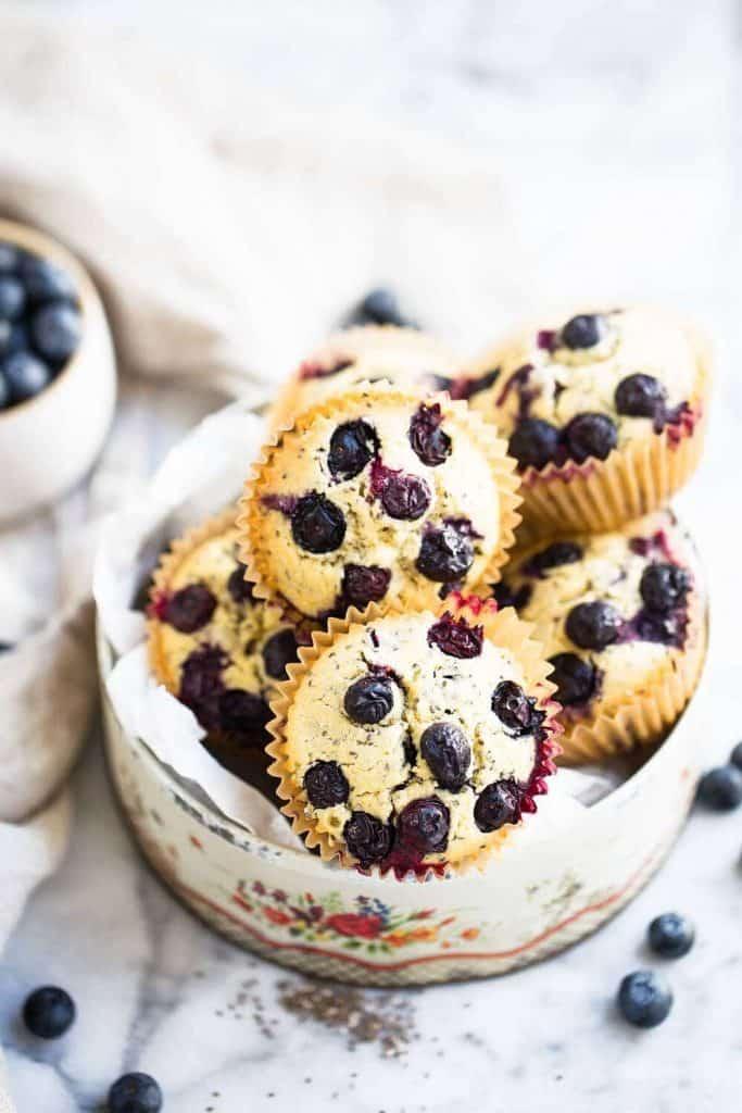 Best Blueberry Muffins (Gluten-Free)