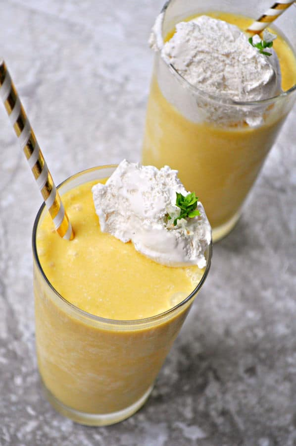 Boozy Creamsicle Milkshake