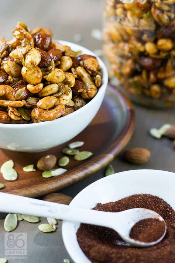 Sweet and Spicy Nut Mix