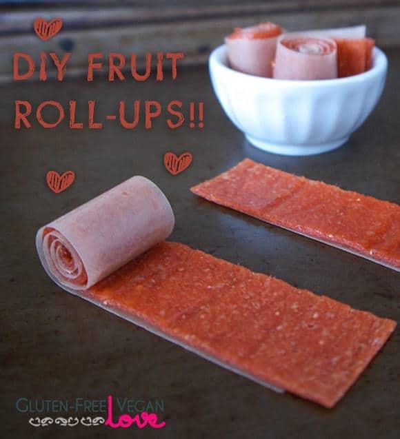 Diy Fruit Roll-Ups