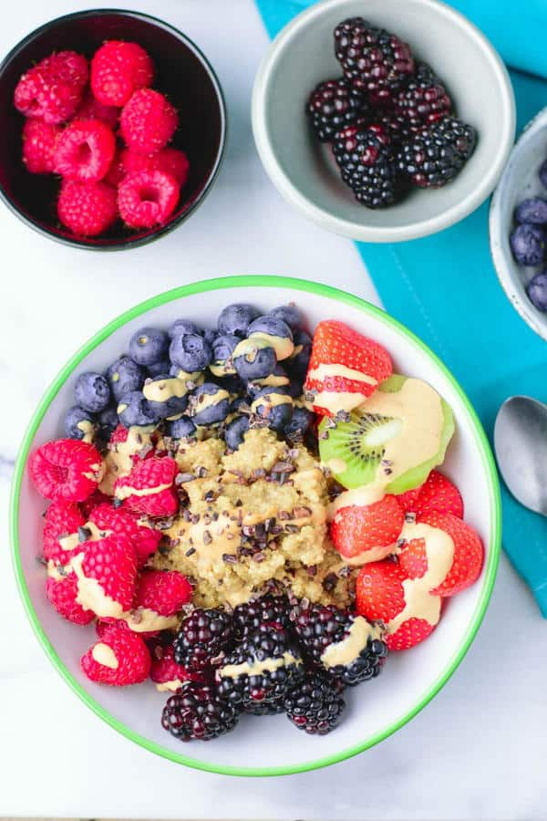 Everyday Quinoa Breakfast Bowl