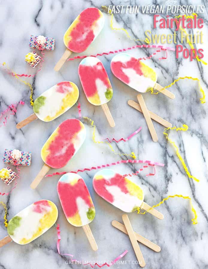 Fairytale Sweet Fruit Popsicles