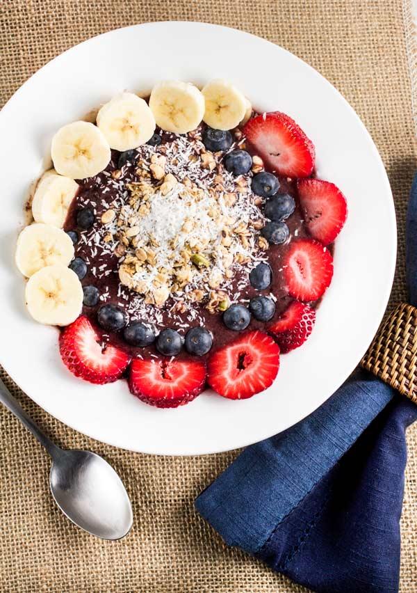 Oahu Acai Breakfast Bowl