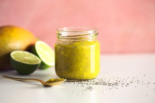 Quick Mango Chia Jam