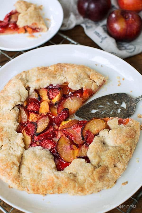 Summer Fruit Galette (Gluten-Free)