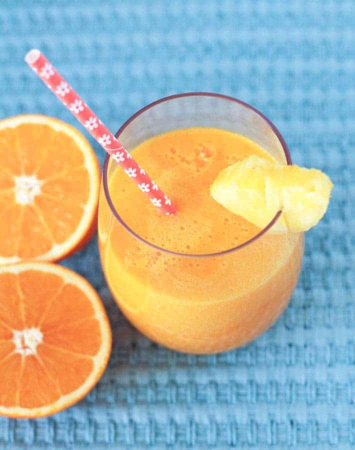 Tropical Pineapple Orange Mango Juice