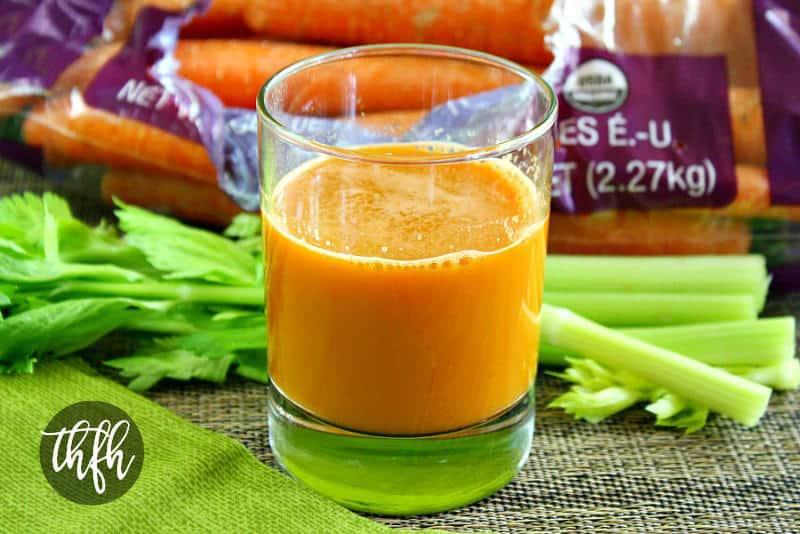 Carrot Apple and Celery Juice