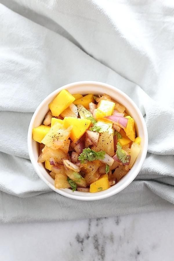 Chili Pineapple Mango Salsa