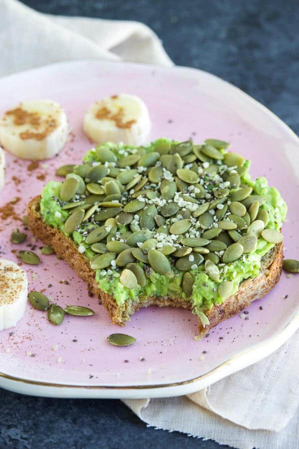 High-Protein Three Seed Avocado Toast