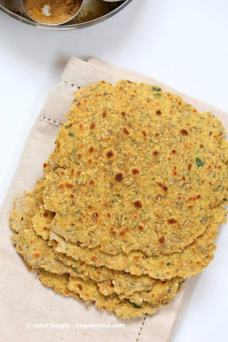 Methi Thepla (High-Protein Savory Herbed Flatbread)