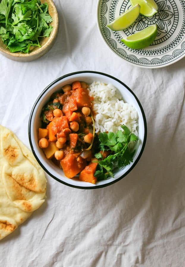 Moroccan Pumpkin & Chickpea Stew