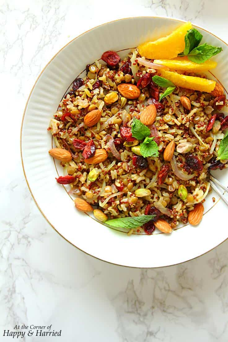 Protein-Packed Persian Jeweled Pilaf (Gluten-Free)