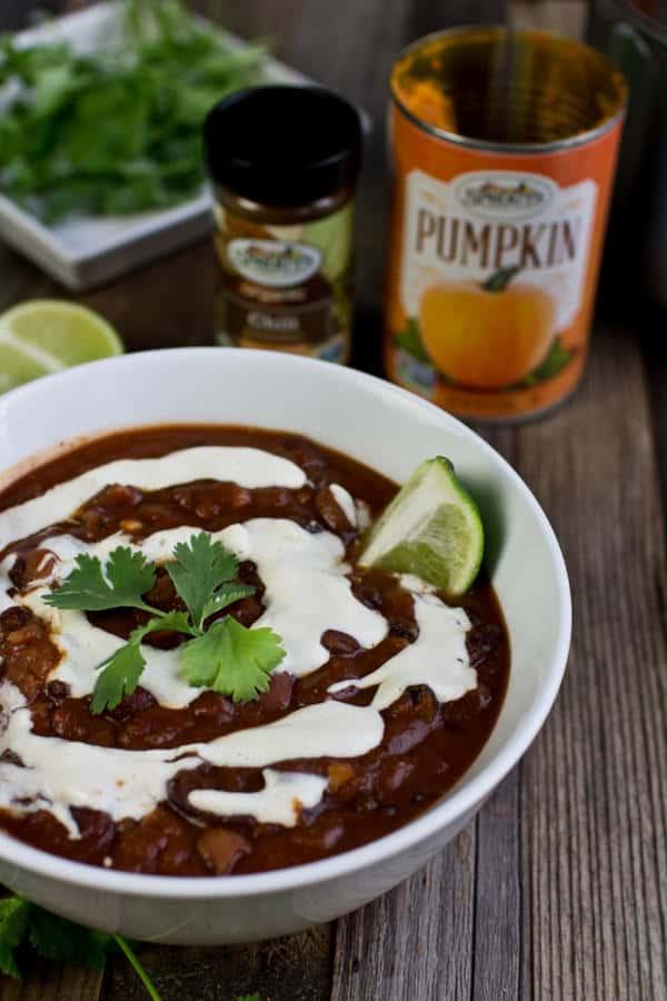 Pumpkin Chipotle Chili