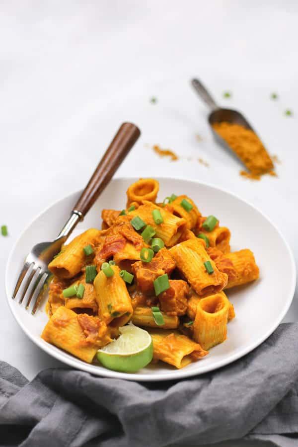 Pumpkin Curry Pasta