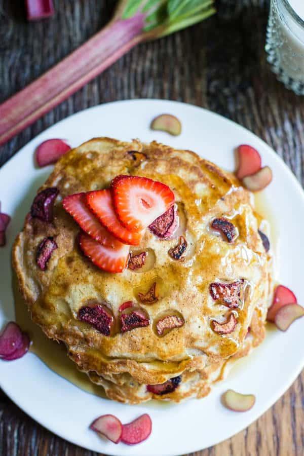 Rhubarb Pancakes