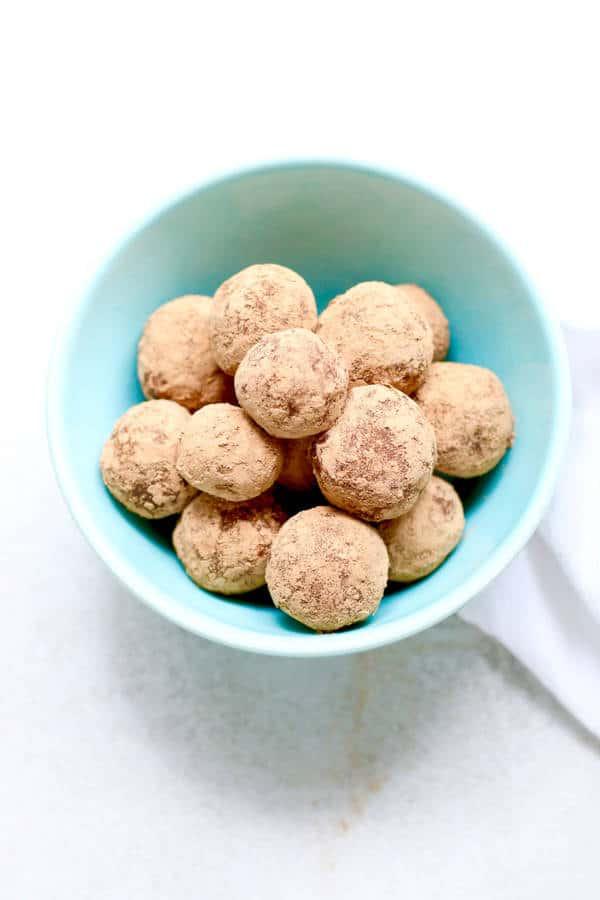 Easy Chocolate Almond Truffles (Gluten-Free)