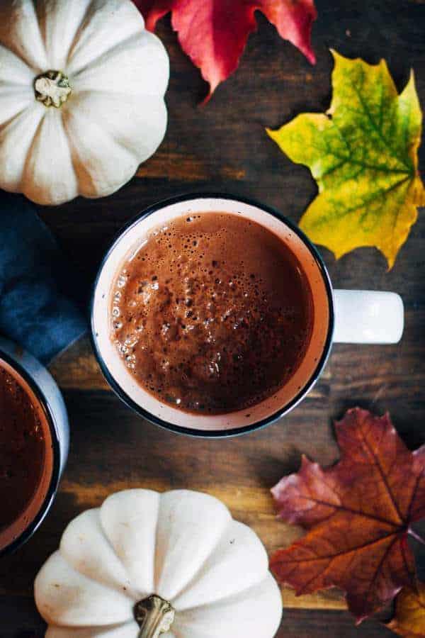 Maca Hot Chocolate