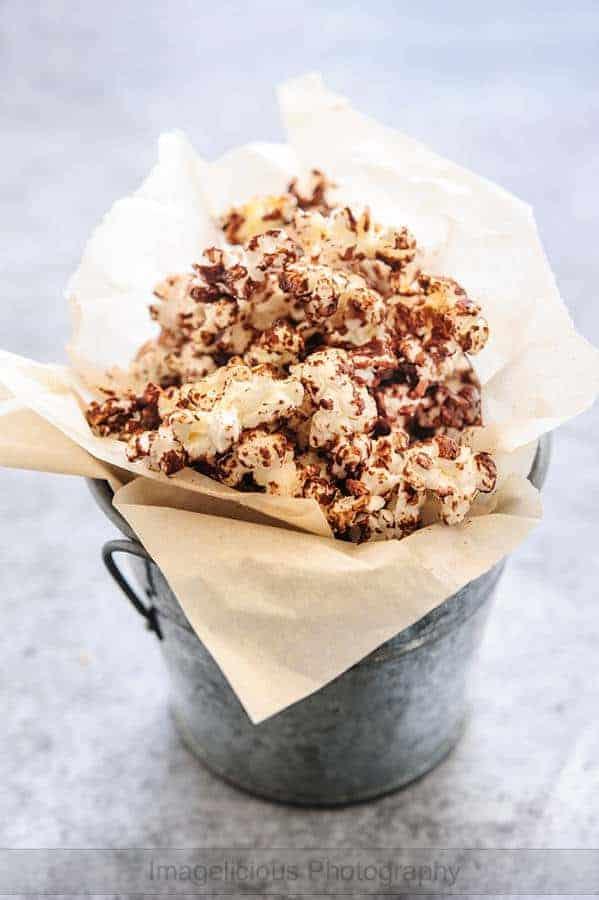 Spicy Chocolate Popcorn (Gluten-Free)