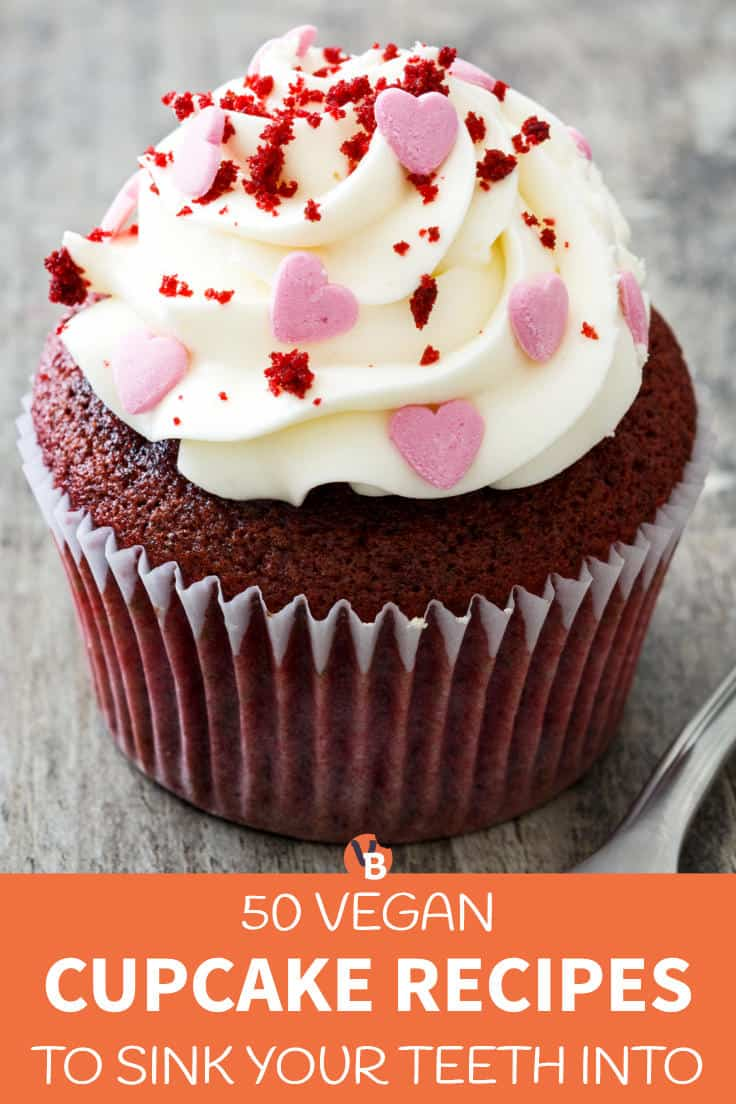 50 Vegan Cupcake Recipes to Sink Your Teeth Into
