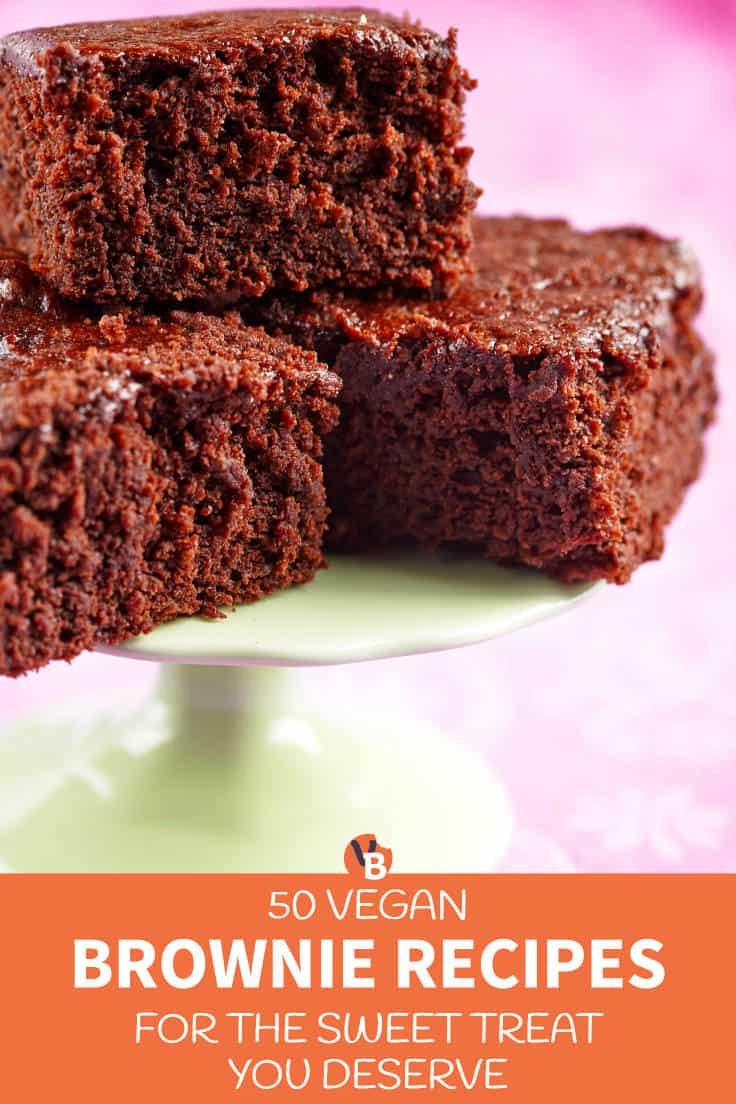 50 Vegan Brownie Recipes for the Sweet Treat You Deserve