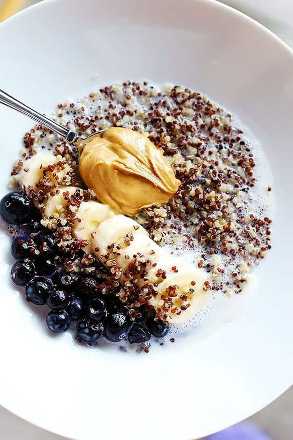 5 Ingredient Quinoa Superfood Breakfast Bowl