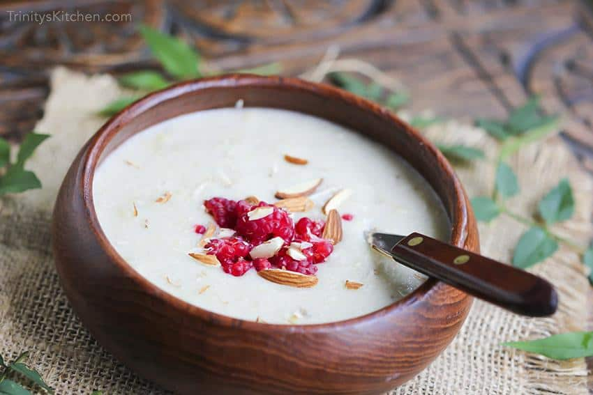 Creamy Millet and Banana Porridge