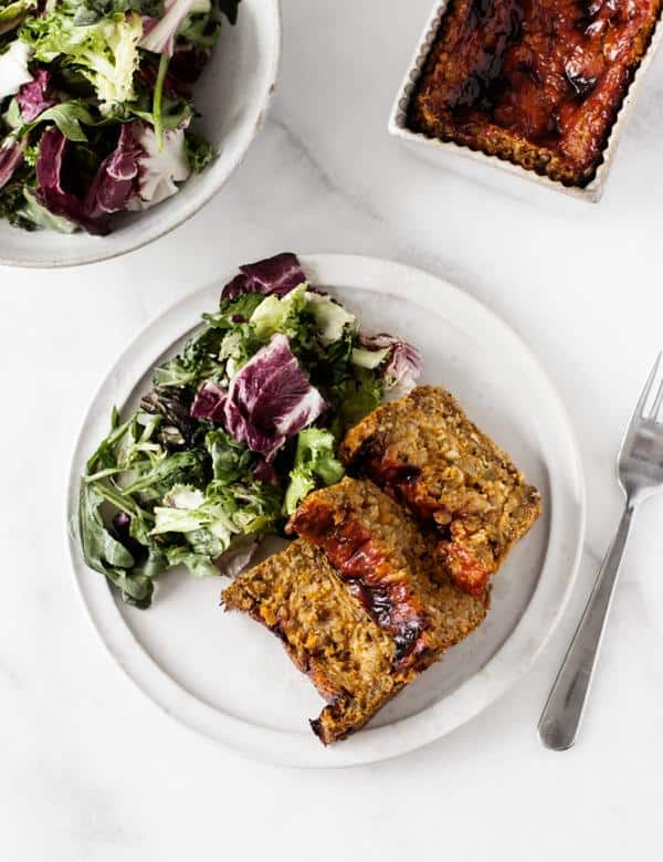 Lentil and Sweet Potato Loaf