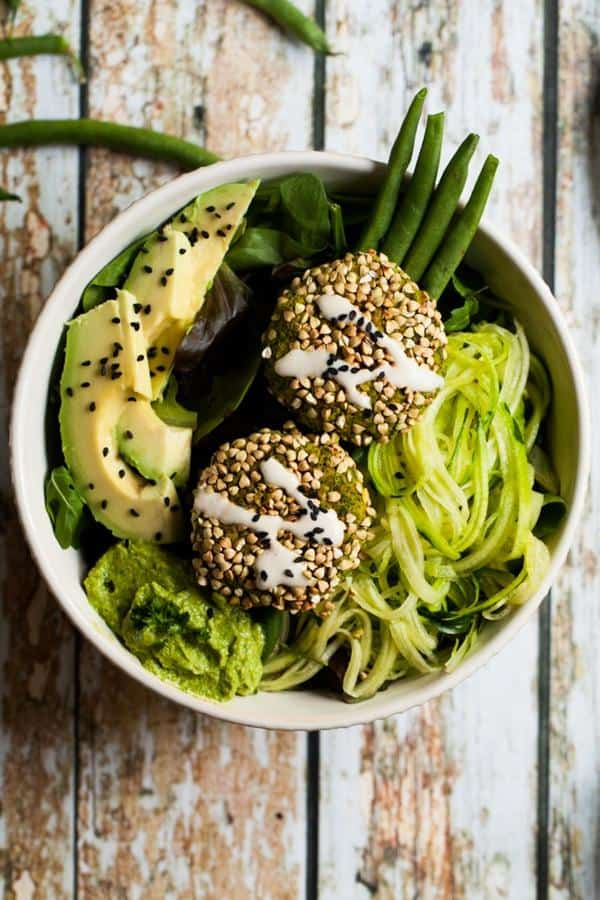 Supergreen Falafel Bowls