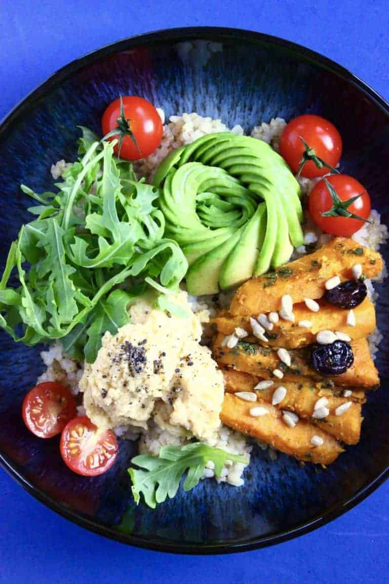 Sweet Potato Buddha Bowl