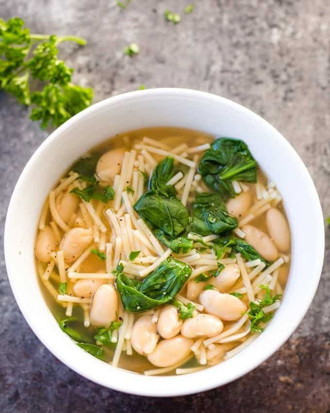 7-Minute Sick Day Soup