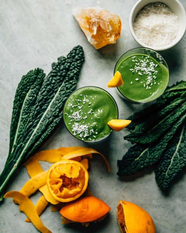 Deep Tropical Vibes Green Smoothie