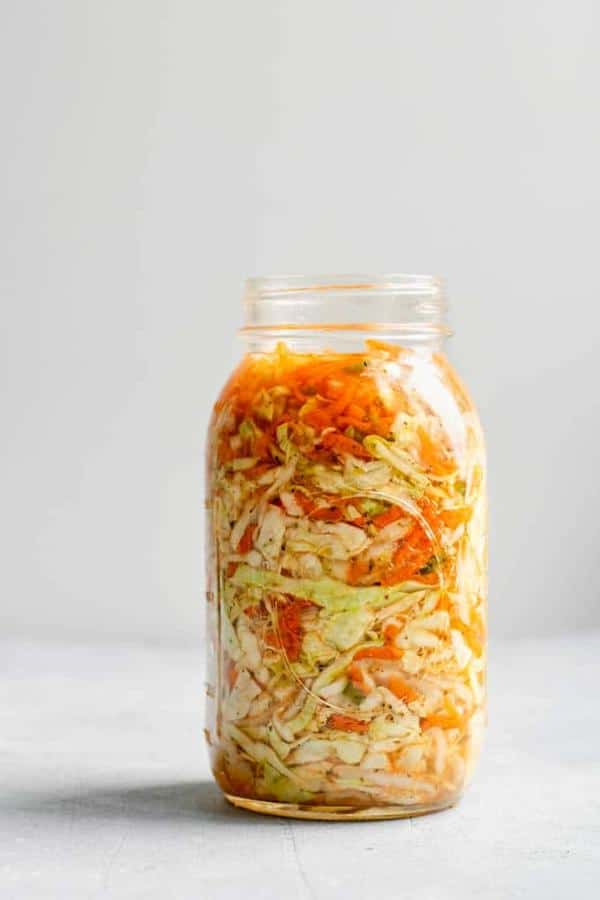 Fermented Cabbage Relish