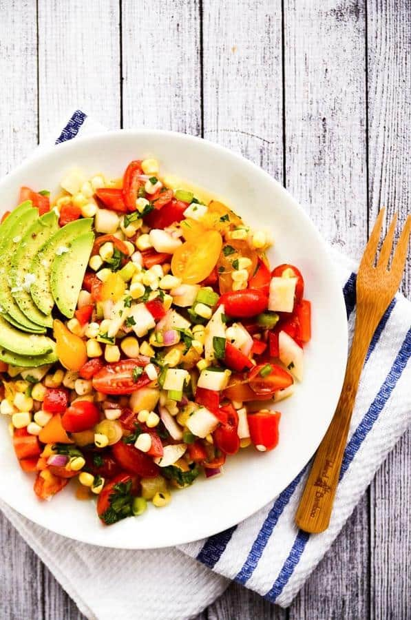 Late Spring Vegetable Ceviche