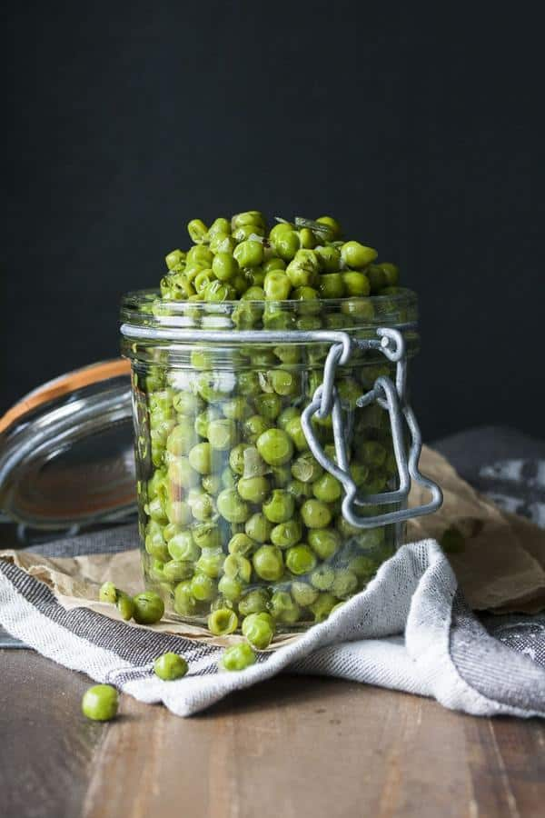 Peas with Scallions and Dill