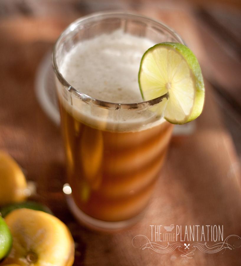 Minty Lime and Lemonade