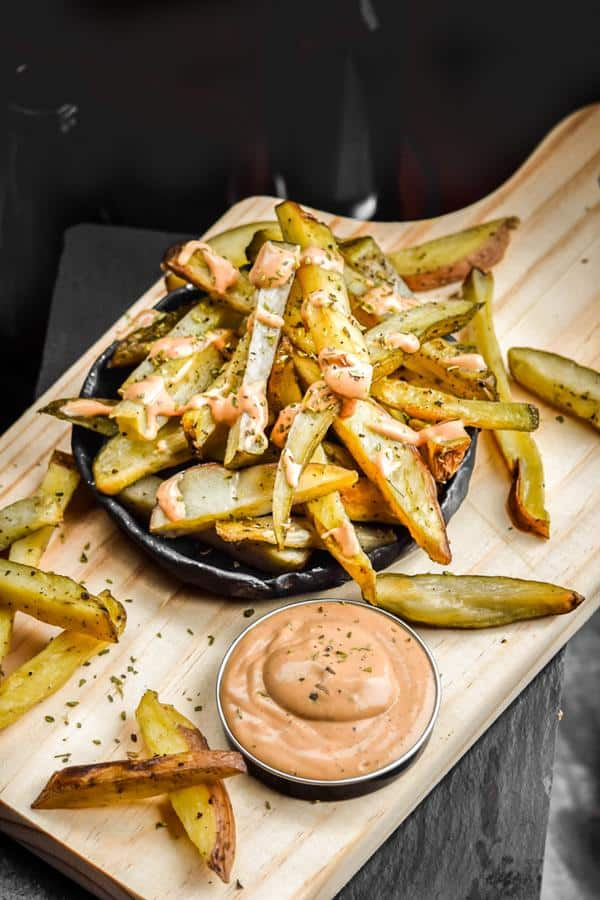 Easy Oven Fries with North Idaho Fry Sauce