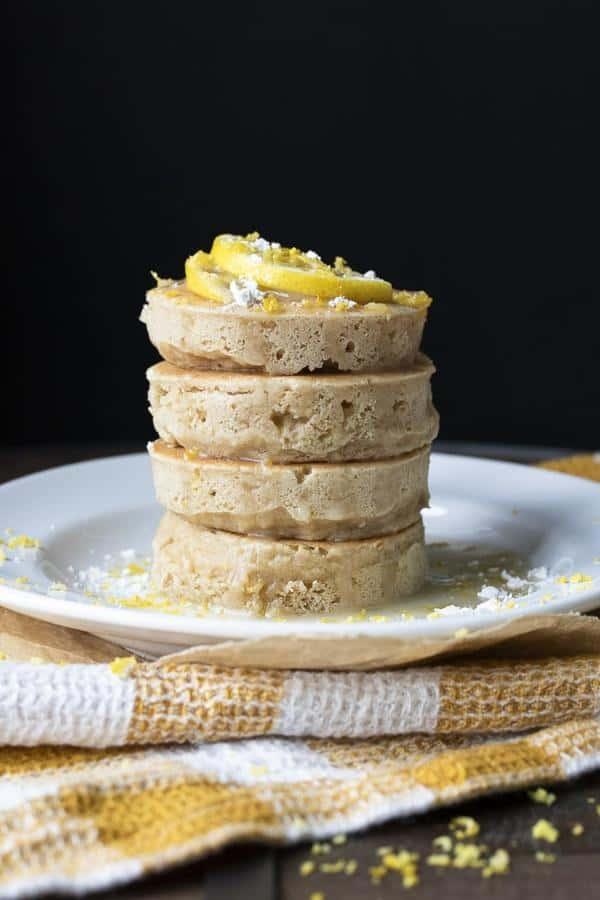 Lemon Ricotta Pancakes (Gluten-Free)