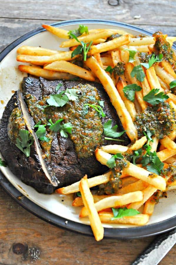 Portobello Steak Frites