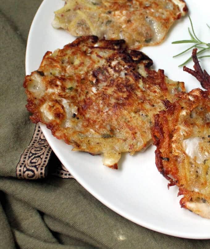 Potato Sauerkraut Pancakes