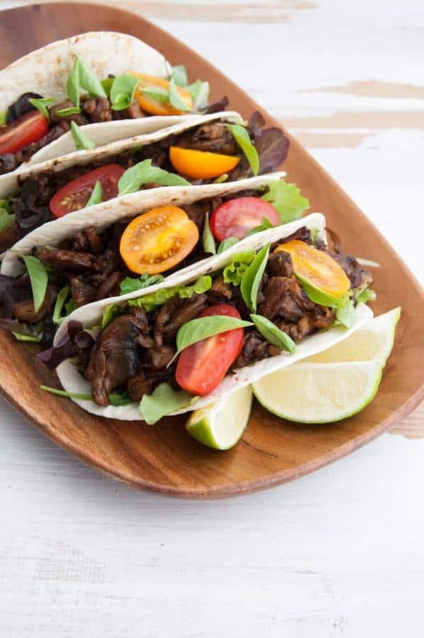 Pulled Portobello Tacos