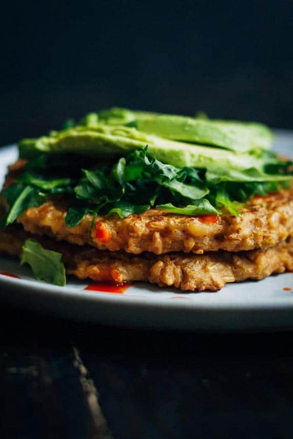 Savory Freekeh Pancakes (Gluten-Free)