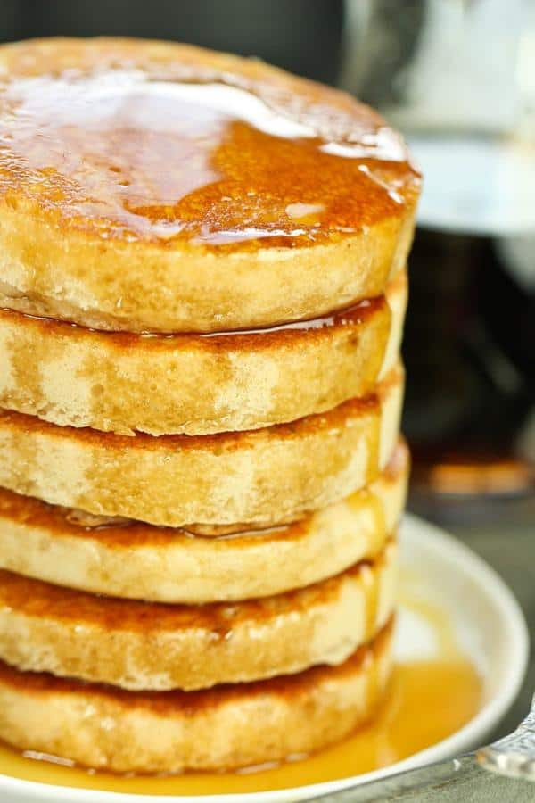 Vegan Buttermilk Pancakes (Gluten-Free)