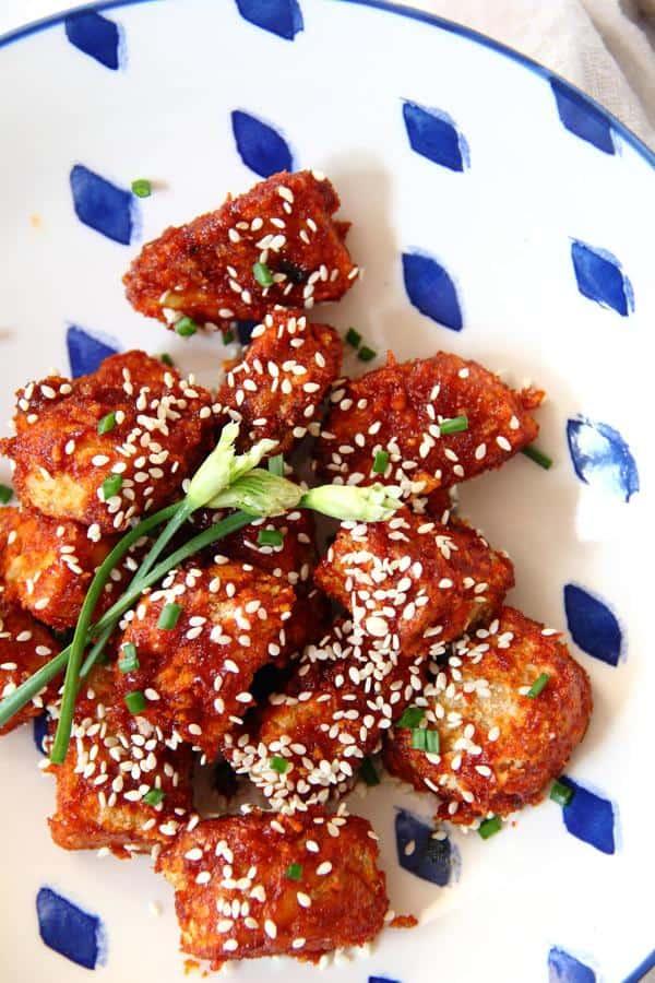 Korean Fried Tempeh
