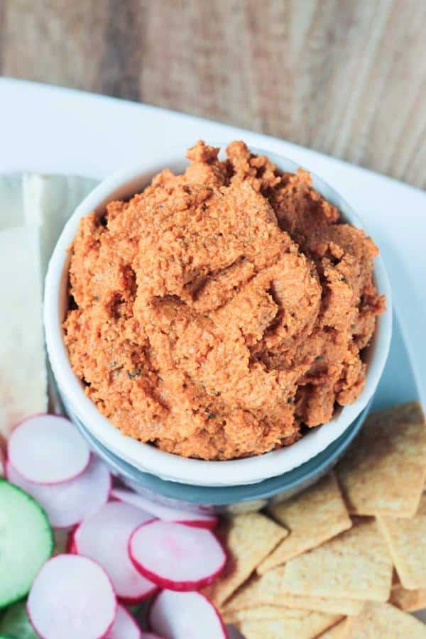 Roasted Carrot White Bean Spread