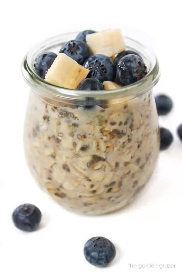 Vanilla Almond Overnight Oats